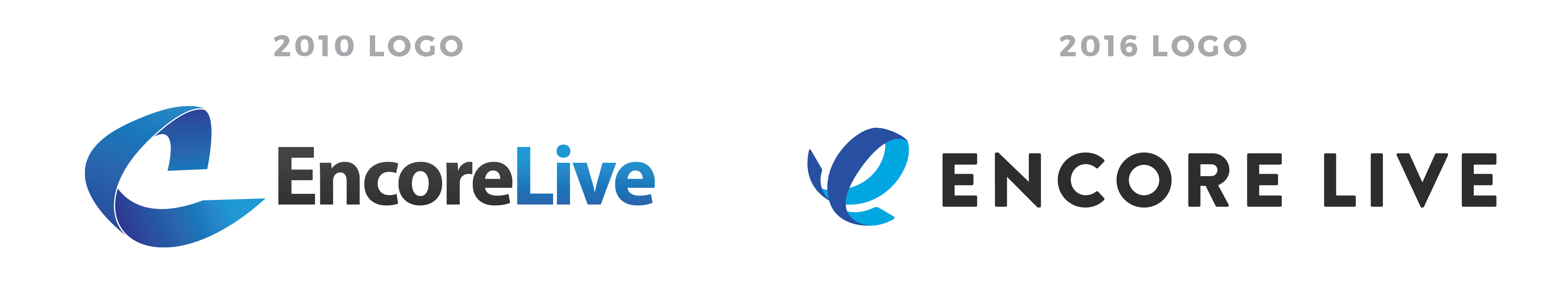 Encore Live logo comparison
