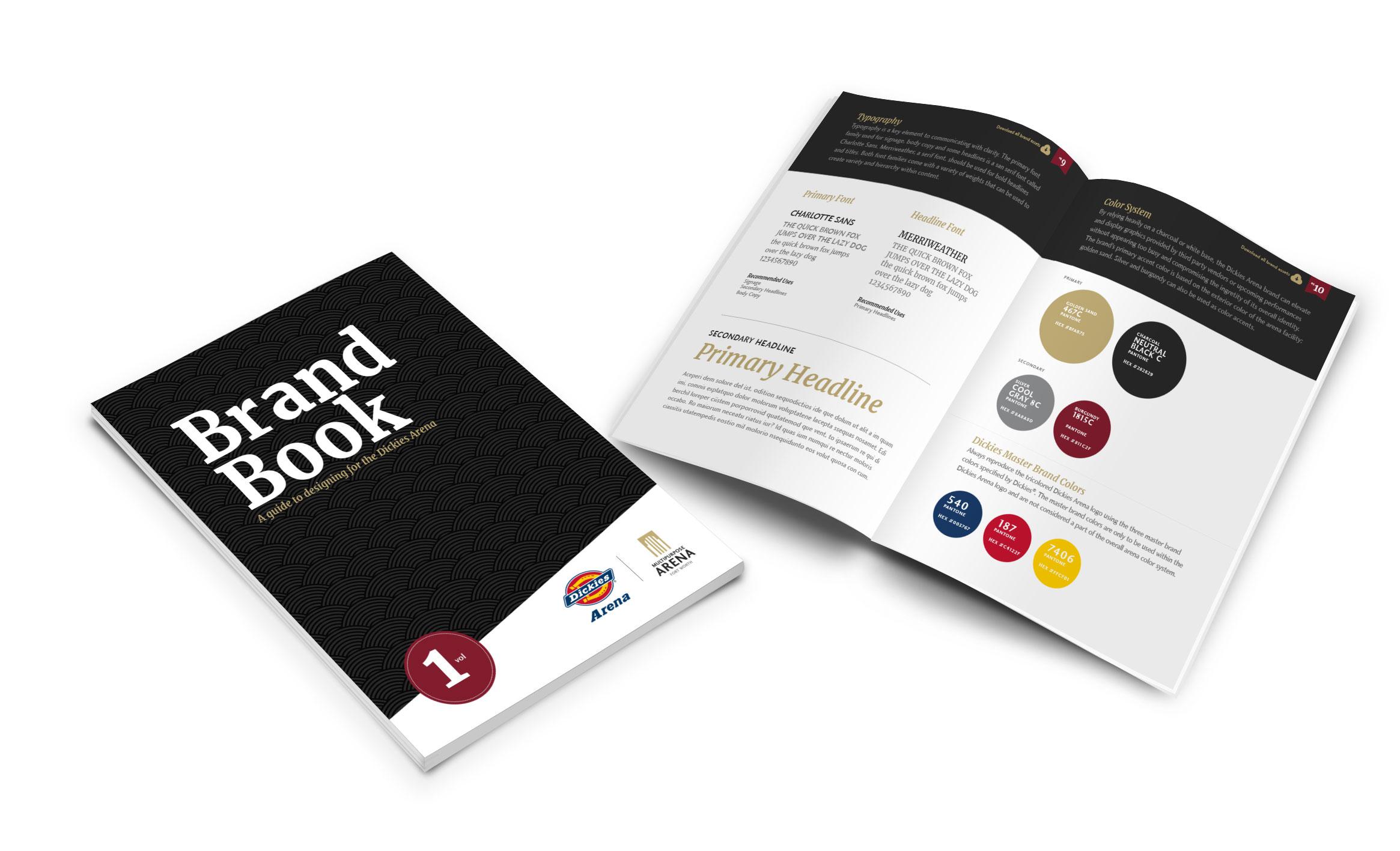 Brand Guide Design - Brand Standards
