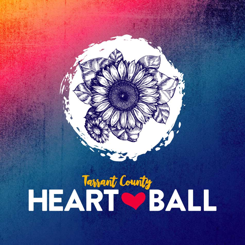 Tarrant County Heart Ball Design