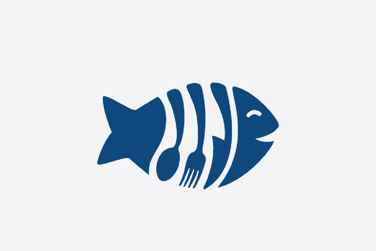 Fish restaurant logo design