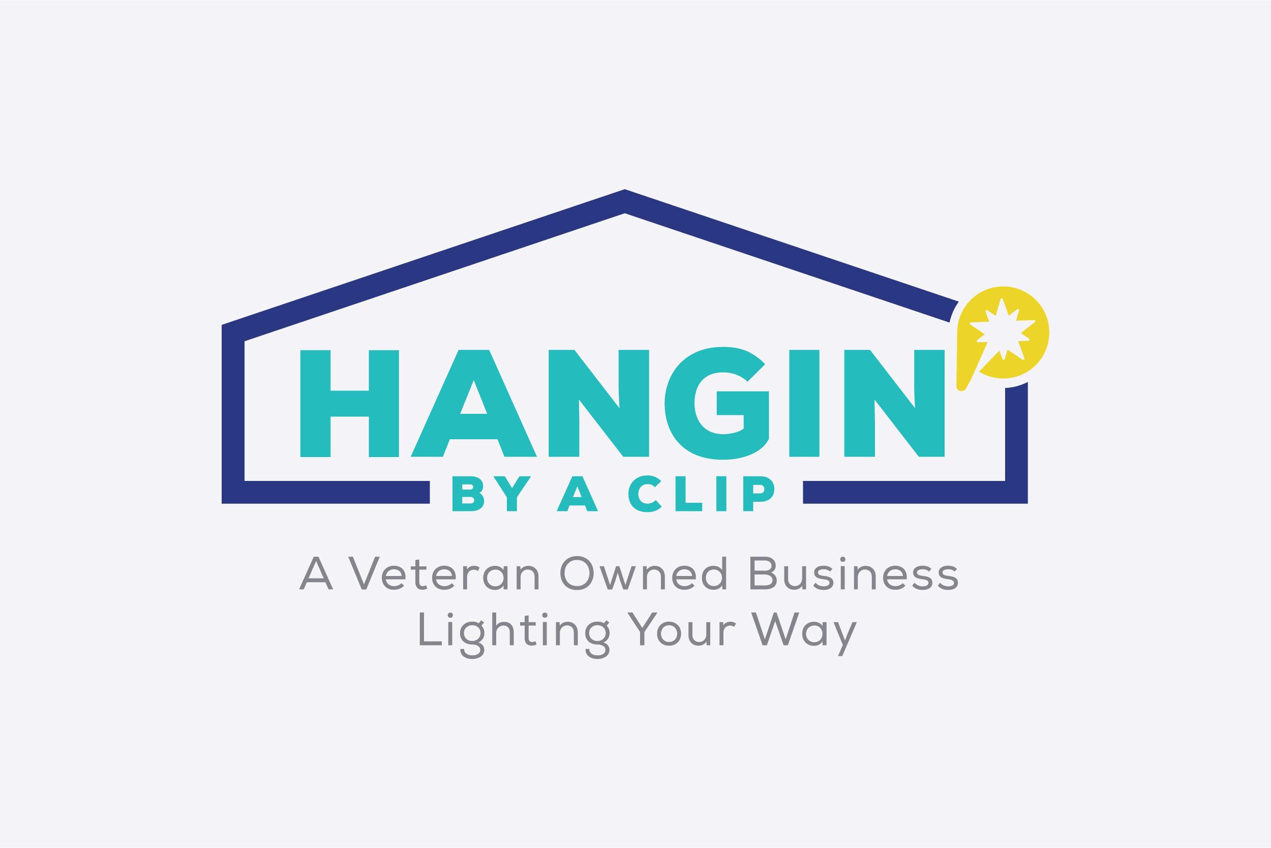 Hangin by a Clip Logo Design