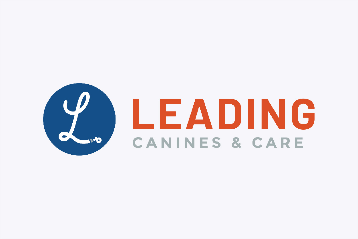 Leading Canines and Care Logo Design