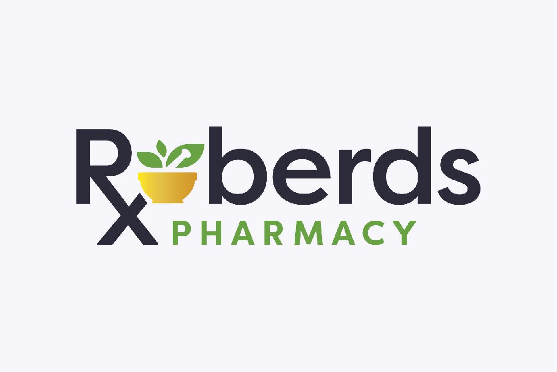 Roberds Pharmacy Logo Design