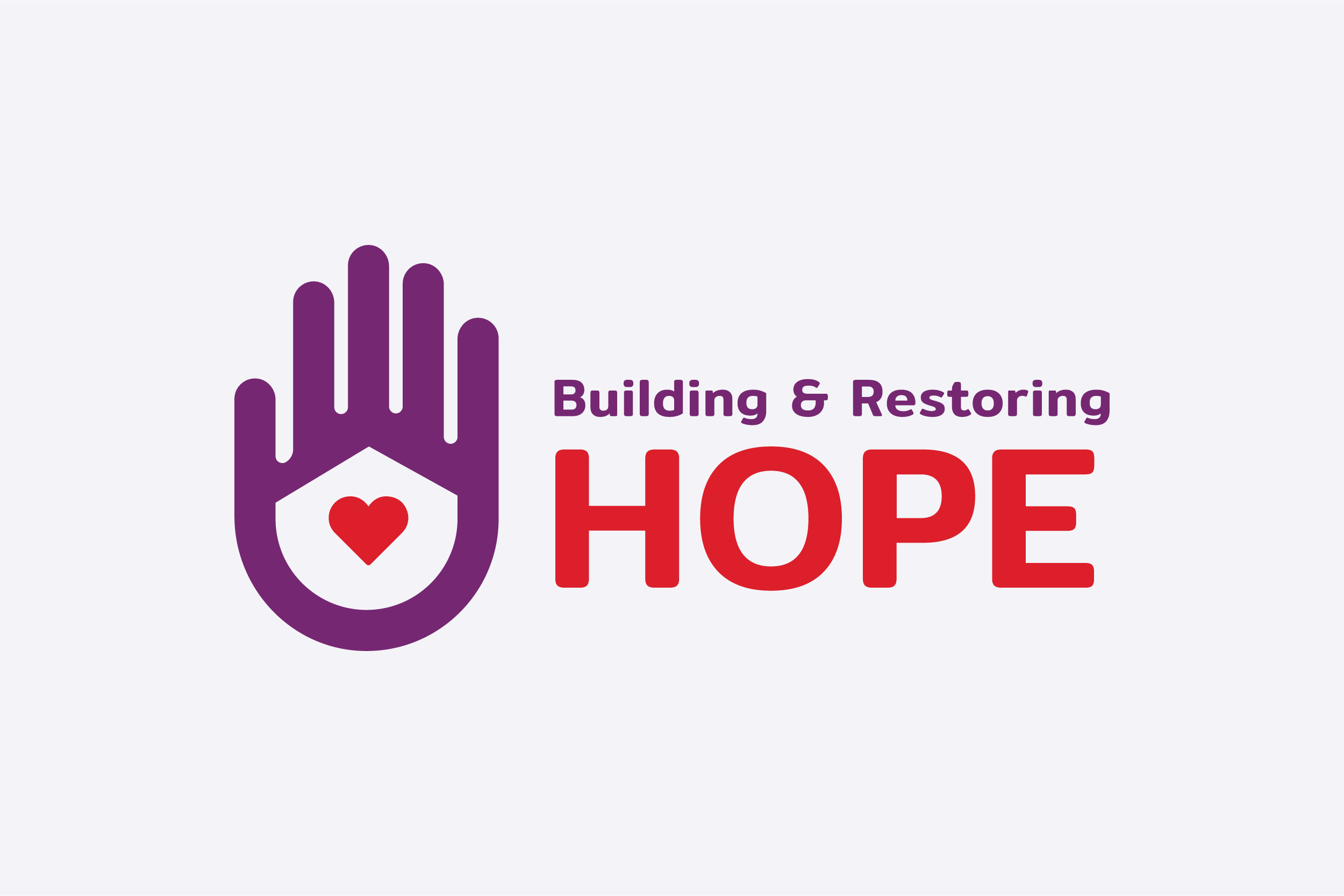 Building and Restoring Hope Logo Design